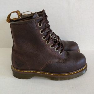 Doc Dr Marten Pascal Leather Boots Industrial